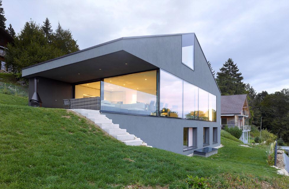 Дом на склоне: методы и особенности строительства